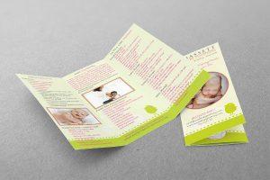 Brochure Design - Baby Planner/Baby Services